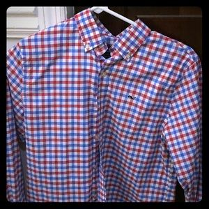 Vineyard vines button up 12-14